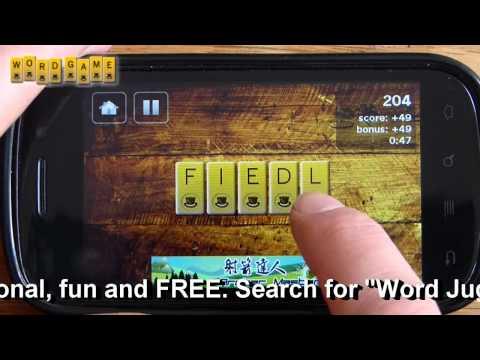 Video of Word Game / Word Juggler