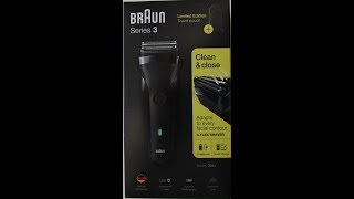 Braun Series 3 301s Travaler Edition Unboxing [HD]