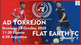 R.F.F.M - TERCERA DIVISIÓN NACIONAL - JORNADA 2 - A.D. Torrejón 2-0 Flat Earth F.C.