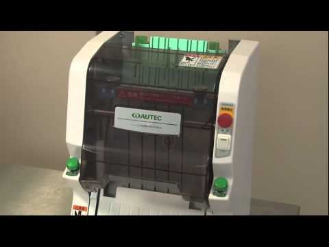 ASM 250CE Maki Cutter Video