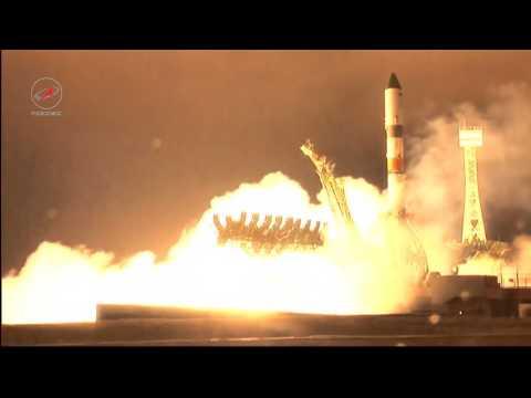 Progress MS-02 launch video