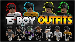 TOP 15 BEST ROBLOX BOY OUTFITS OF 2020🔥😱  (FAN Outfits) 🎉