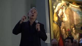 """Conferenza """"La luce per l'arte"""" di Francesco Murano con Chiara Rostagno"""