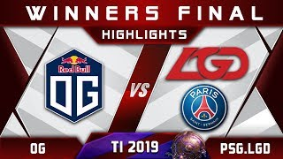 OG vs PSG.LGD TI9 [EPIC] Winners Final The International 2019 Highlights Dota 2