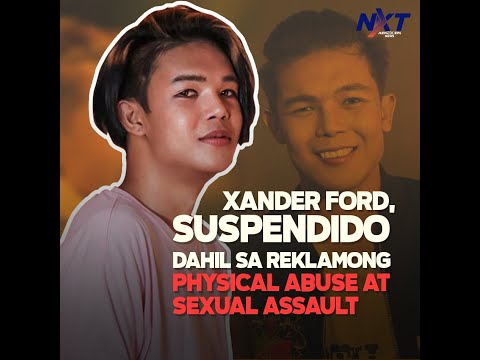 [ABS-CBN]  Xander Ford, suspendido dahil sa reklamong physical abuse at sexual assault   NXT