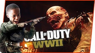 WHO'S THE BETTER ZOMBIE PLAYER?! - Call of Duty World War 2 Gameplay