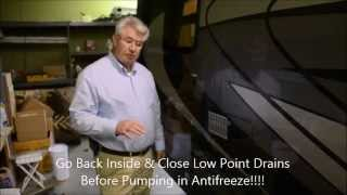 How to winterize a 2015 Phoenix Cruiser Motorhome