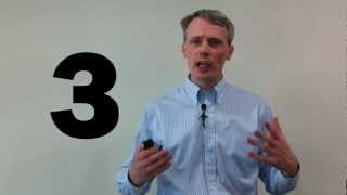 Presentation Skills: Why is the number 3 special?