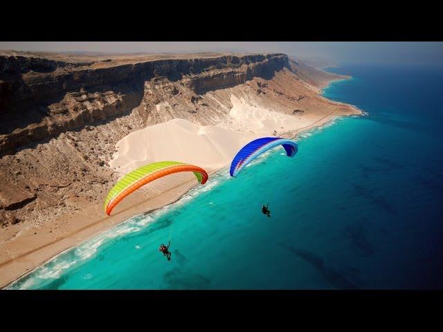 sportourism.id - Paragliding-di-Pulau-Teraneh-di-Dunia