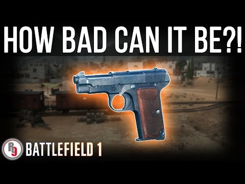 How is the Modello 1915 the least used support class pistol