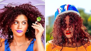 FUNNY HAIR STRUGGLES EVERY GIRL FACE || Beauty Hacks To Feel Gorgeous