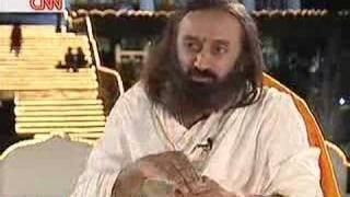 Sri Sri Ravi Shankar on CNN 's Quest for Spirituality