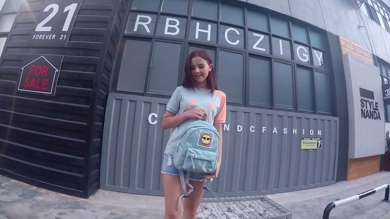 Рюкзак Upixel Funny Square M-Синий WY-U18-002M video preview