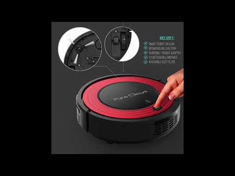 PureClean PUCRC95, Review of PureClean PUCRC95 Robot Vacuum Cleaner with Programmable Self Activation and Automatic Charge Dock