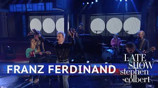 Franz Ferdinand Performs 'Feel The Love Go'