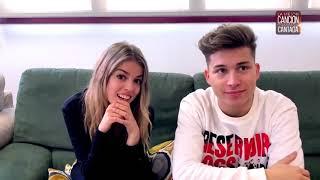 Entrevista A Nerea Y Raoul En Los Ensayos De La Mejor Canción Jamas Cantada 21-2-19