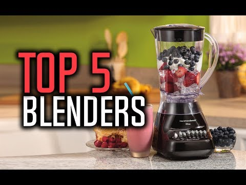 Best Blenders in 2018 – Best Blenders for Smoothies & Juices