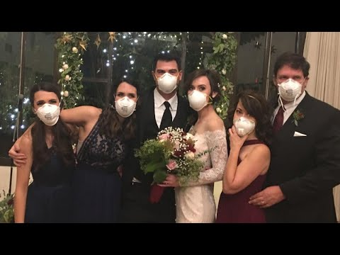 Bride Moves Forward With Wedding After Her California Town Burned Down