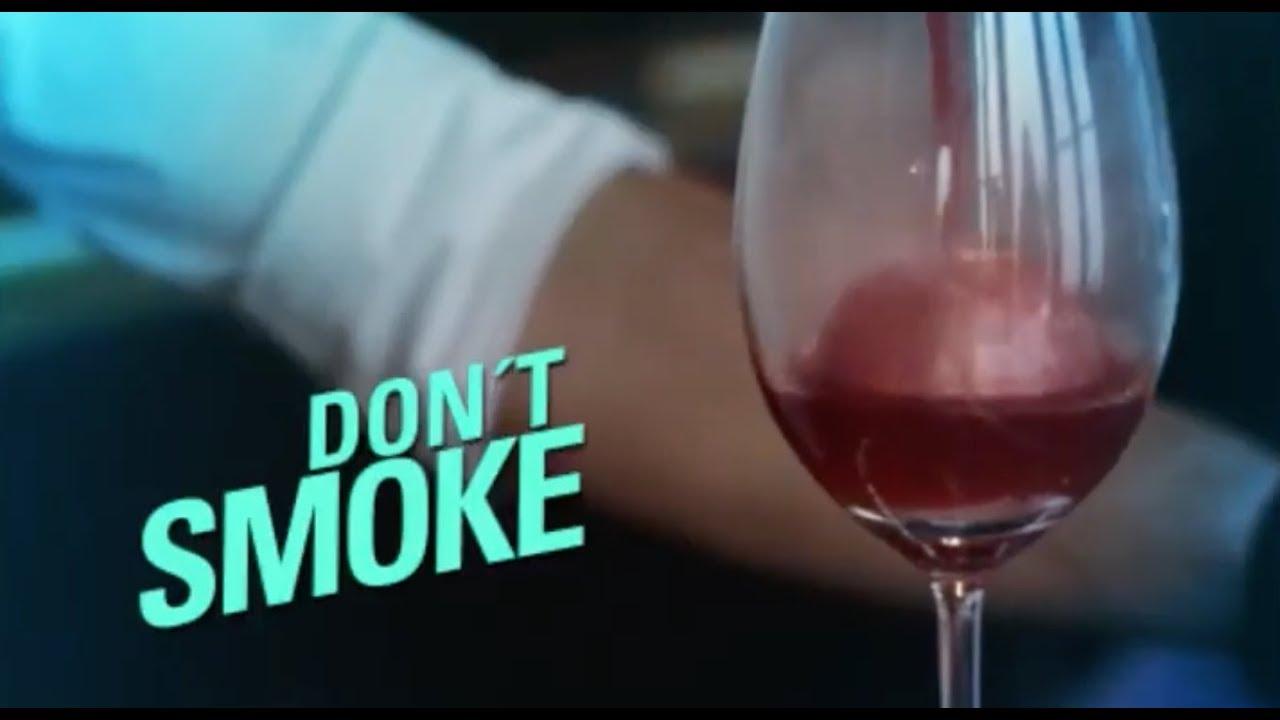Don't Smoke by Ballantine's