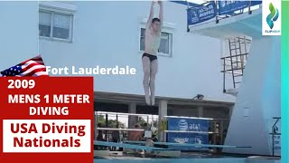 09 Men 1m Finals Spring Senior Diving Nationals