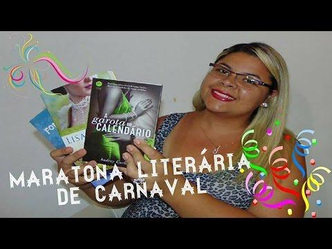 MARATONA LITERÁRIA DE CARNAVAL | Estante da Suh