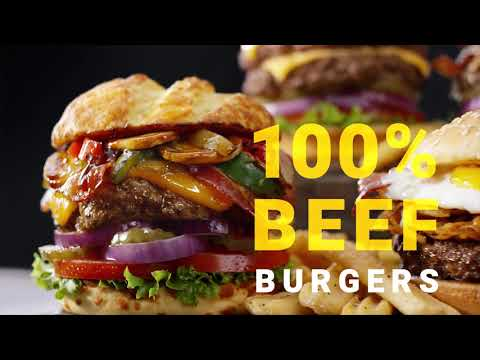 YouTube: Denny's 100% Beef Burger