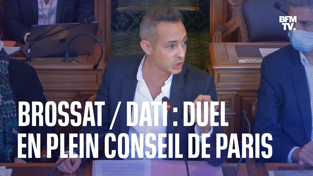 Ian Brossat / Rachida Dati: duel en plein Conseil de Paris