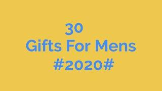 30 Birthday Gift Ideas For Men / Husband / Brother / Boy Friend