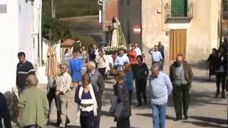 preview picture of video 'Procesión Virgen del Rosario Naharros (Cuenca) 2012'