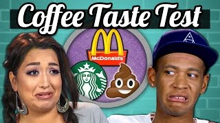 ADULTS VS FOOD - COFFEE!  (McDonalds, Starbucks, Poop?!)