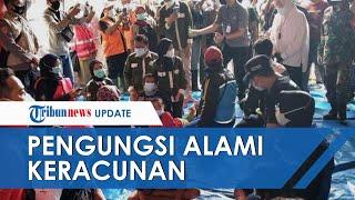 Diduga Keracunan, Puluhan Pengungsi dan Relawan Bencana Tanah Longsor di Nganjuk Dirawat