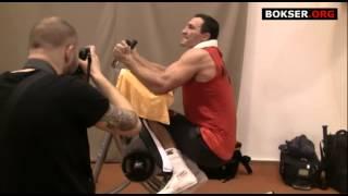 Wladimir Klitschko training strength and muscles