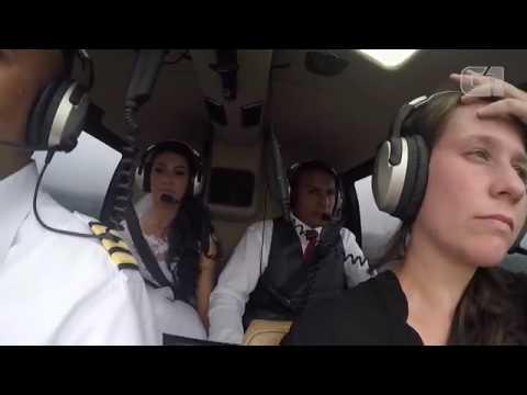 Câmera de fotógrafa foi achada por irmão da noiva na mata 4 dias após queda de helicóptero
