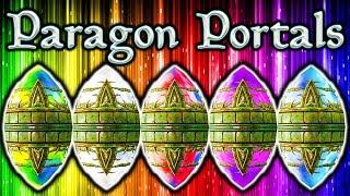 Skyrim SE - Paragon Portals EASY 10K - 20K Gold Secret Hidden Treasure