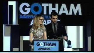 Zachary Quinto et Sarah Paulson- Gotham Awards 2011