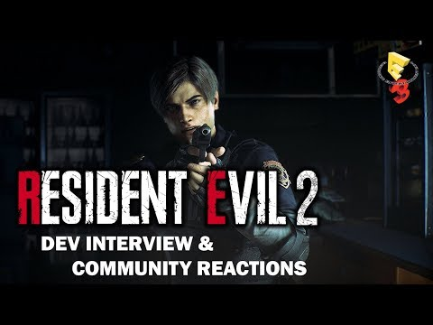 Resident Evil 2 - E3 2018 Developer Interview & Community Reaction thumbnail