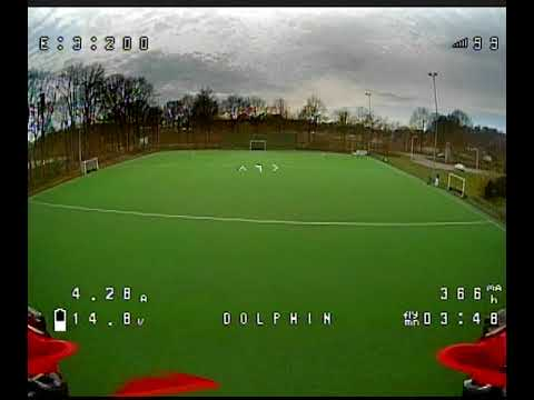 FPV test-flight with the GepRC Dolphin 4\