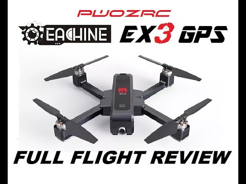 EACHINE EX3 5G WiFi FPV 2K CAMERA GPS DRONE REVIEW Courtesy Banggood