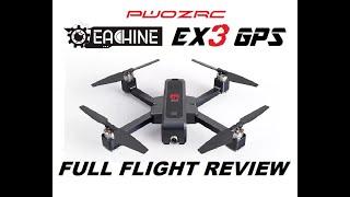 EACHINE EX3 5G WiFi FPV 2K CAMERA GPS DRONE REVIEW
