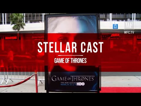 Stellar Cast | Game of Thrones Red carpet video