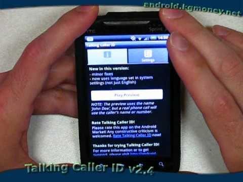 Vídeo do Talking Caller ID (free)