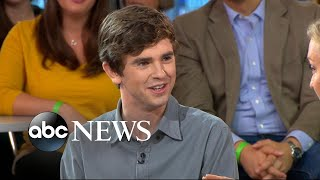 Freddie Highmore dishes on 'The Good Doctor' - Video Youtube