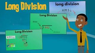 Long Division Made Easy: HMS Bring Down   EasyTeaching