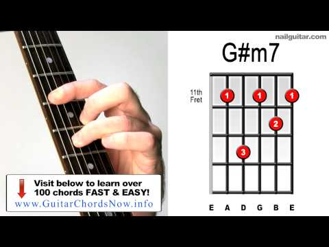 G#m7 ♫♬ Must Learn Guitar Chords!