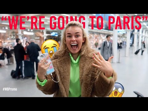 SURPRISING MY BEST FRIEND WITH A TRIP TO PARIS!!