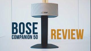 Bose Companion 50 Review - Test (deutsch)