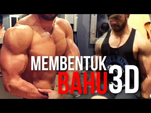 Video CARA MELATIH OTOT BAHU/SHOULDER 3D | GyManiac