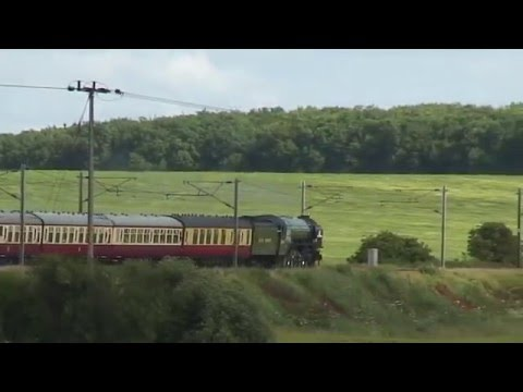 Tornado, Duchess of Sutherland, Tangmere & The Flying Scotsm…
