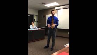 Austen Canonica - Toastmasters: Organize Your Speech
