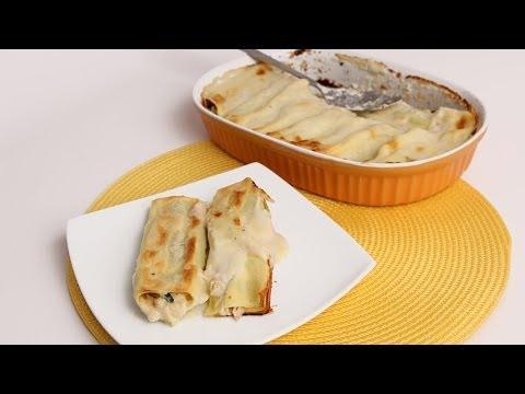 Crab Stuffed Manicotti Recipe- Laura Vitale – Laura in the Kitchen Episode 693